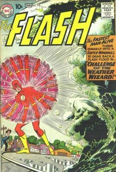 The Flash #110 - Challenge of the Weather Wizard! / Meet Kid Flash!