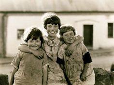 Smiling girls, Leinster, Ireland.