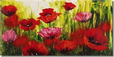 flowers paintings - Buscar con Google