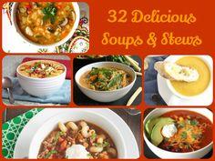 32 Delicious Soups & Stews