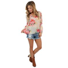 Such a cute floral top for summer or fall #shopimpressions #contest #autumniscalling