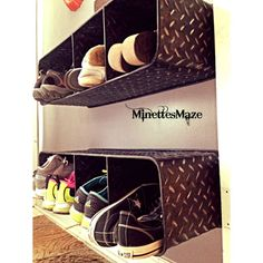 Shoe Storage Solutions Clever Ideas to Store and Organize Your Shoes - The Cottage Market