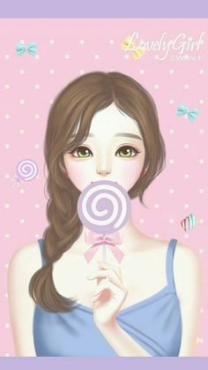 Find images and videos about fashion, cute and beautiful on We Heart It - the app to get lost in what you love. Girly Drawings, Pretty Drawings, Lovely Girl Image, Girls Image, Anime Korea, Cute Cartoon Girl, Cute Girl Wallpaper, Digital Art Girl, Girl Sketch