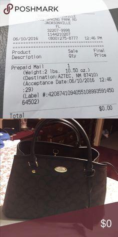 Coach Coach bag shipping Bags Satchels