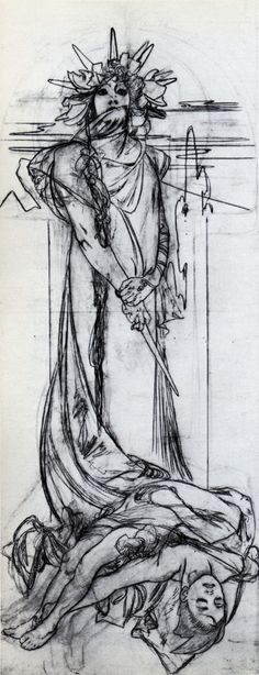Alfons Maria Mucha / Médée