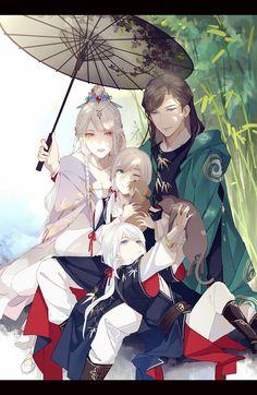 Please visit our website to support us! Fantasy Kunst, Fantasy Art, Character Inspiration, Character Art, Anime Bebe, Desenhos Love, Japon Illustration, Image Manga, Anime Love Couple