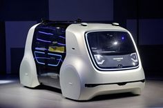 Geneva Motor Show Volkswagen surprises with Sedric, a driverless taxi Vw T, Volkswagen Group, Automotive News, Automotive Design, Minibus, Assurance Auto, Vw Group, Geneva Motor Show, Motorcycles