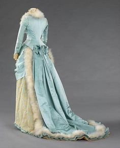 Evening dress by R.H. White & Co ca 1885