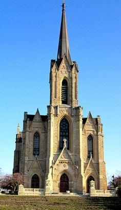 Historic Church of St Patrick in Toledo, Oh. is one of the best Victorian Gothic architecture in USA