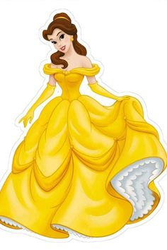 beauty and the beast character on paper cut outs Disney Princess Belle, Princess Fotos, Princesa Disney Bella, Bella Disney, Disney Princess Birthday, Disney Princess Pictures, Disney Princess Drawings, Cute Disney, Disney Drawings