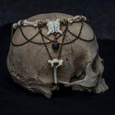 Image of Necrolady Bone Necklace