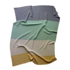modern heirloom baby blanket - grays   100% Egyptian Cotton, Made in USA   koko's nest