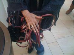 Long Fingernails, Long Nails, Awesome