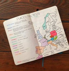18 Inspiring Travel Planning Bullet Journal Layouts Traveling is always easier when you prepare right. This post is full of inspiring travel bullet journal layouts to get you ready for your next trip! Bullet Journal Voyage, Bullet Journal Travel, Bullet Journal Ideas Pages, Bullet Journal Inspo, Bullet Journal Layout, My Journal, Journal Covers, Journal Pages, Bullet Journals