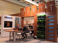 DIRTT Environmental Solutions has created a modular wall system that minimizes construction waste, is easily reconfigurable, and serves as a platform for plug and play sustainable furnishings. They even plan out their projects using custom specification software, so interior designers can re-imagine an interior by shifting walls and ceilings in a video game-like experience.