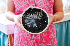 DIY Galaxy Print Gemma Patford Legge, Gemma Patford www.gemmapatford.com Rope Vessels, Hand Made, Rope Baskets, Melbourne, Rope baskets, Rope basket, Rope Art