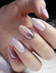 Stilvolle rosa Nagelkunst-Ideen Stylish Pink Nail Art Ideas Colorful Stylish Summer Nail Design Ideas for 2019 # manicure # short nails Pink Manicure, Pink Nail Art, Manicure Ideas, Pale Pink Nails, Nail Art Rose, Rose Gold Glitter Nails, White Gold Nails, Red Sparkle Nails, Jewel Nails