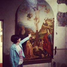 Albenga raffigurata com'era nel 1530 nell'affresco di Raffaele De Rossi #invasionidigitali