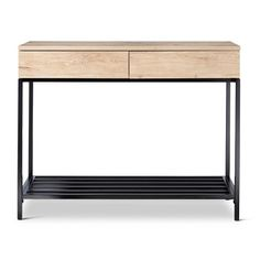 Darley Console Table Vintage Oak - Threshold™ : Target