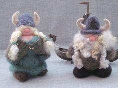 Felted Wool Vikings