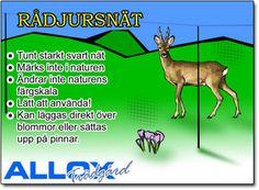 Rådjursnät - Viltnät - ALLOX AB