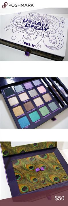 Urban Decay Book of Shadows 2 New. Never been used. Missing black liner Urban Decay Makeup Eyeshadow