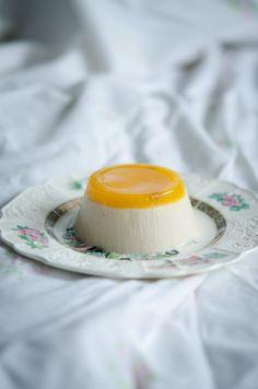 Ho Sposato Un Vegetariano: Panna Cotta (vegan) con gelèe di clementine