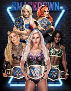 All divas WWE Smackdown Women's Championship winner match for history.