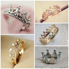Crown rings.