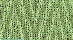 Pinnacle Chevron - Knittingfool Stitch Detail