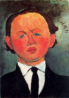 Oscar Miestchaninoff, 1917  Amedeo Modigliani