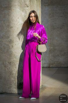 Paris Fashion Week Fall 2017 Street Style: Giorgia Tordini