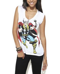 Running Thor Tank from Wet Seal #WSThor #Marvel #Comics