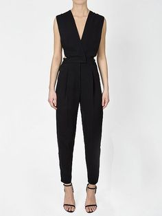Women's Dresses and Jumpsuits - Jonathan Simkhai - Spring Summer 2018 All Black Looks, The Blonde Salad, Jonathan Simkhai, Spring Summer 2018, Summer Collection, Kim Kardashian, Style Inspiration, Crop Tops, Cut Outs