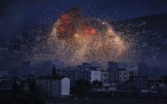 Coalition strikes pound ISIS targets
