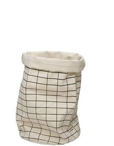 Fabric Storage Bag - Grid