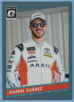 Daniel Suarez Nascar, Trading Cards, Racing, Baseball Cards, Sports, Running, Hs Sports, Collector Cards, Auto Racing