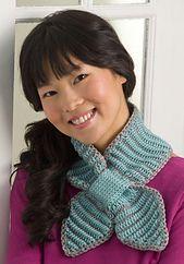 Ravelry: Bow Tie Neck Warmer pattern by Darla J. Fanton