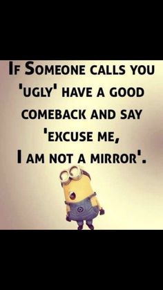 Quotes for Fun QUOTATION - Image : As the quote says - Description Minions Quotes Top 370 Funny Quotes With Pictures Sayings 11 Sharing is love, sharing Funny Minion Memes, Minions Quotes, Funny Puns, Funny Stuff, Funny Sayings, Minion Sayings, Minion Humor, Hilarious, Funny Inspirational Quotes