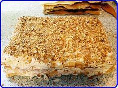Торт наполеон классический готов