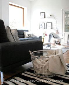 STILREICH // Wohn- und Lifestyle Blog: new sofa and memories on the wall!♥