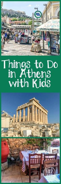 Things to do in Athens with kids, including the Acropolis, Plaka, and the changing of the guard. European Vacation, European Destination, European Travel, Travel Europe, Travel With Kids, Family Travel, Travel Couple, Strand Design, Greece With Kids