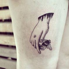 Beautifully Simple Animal Tattoos By Cheyenne Beautiful Tattoos - Beautifully simple animal tattoos by cheyenne