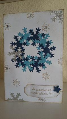 Die Weihnachtskarten sind los... die 2te! - the-creative-things