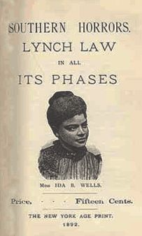 Ida B. Wells, a African American woman's journey to fight against and end slavery in the United States.