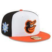 #Spring #AdoreWe #MLBShop.com - #MLBShop.com Men's Baltimore Orioles New Era Black 2018 Jackie Robinson Day 59FIFTY Fitted Hat - AdoreWe.com
