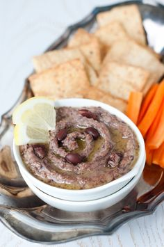 Black Bean Hummus and more healthy black bean recipes on MyNaturalFamily.com #recipes