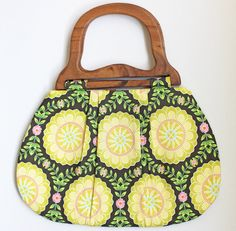dahlia medallion purse