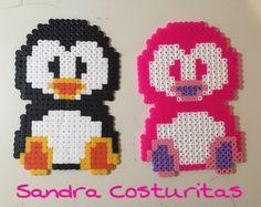 Pingüinos de hama!!!