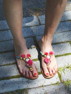 Curacao Thong Sandal at Free People Clothing Boutique